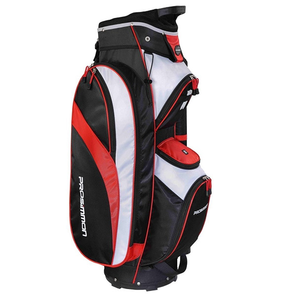 prosimmon tour golf cart bag review